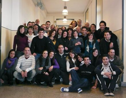 allievi del primo corso anno scolastico 2009-2010